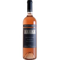 Rosé wine bottle Gerbino Rosato di Nero D' Avola DOC Sicilia with 75cl