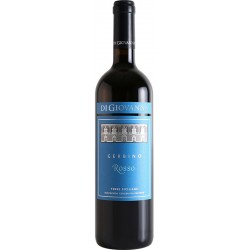Red wine bottle Gerbino Rosso IGP Terre Siciliane with 75cl