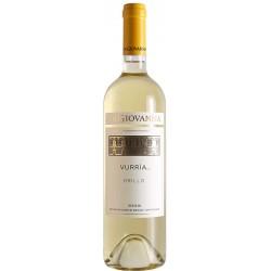 White wine bottle VURRIA Grillo DOC Sicilia with 75cl