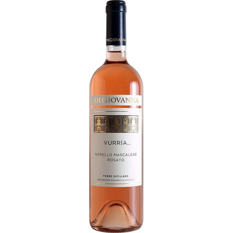 Wine bottle VURRIA Nerello Mascalese Rosato with 75cl