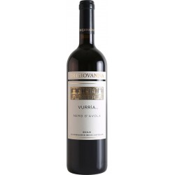 Red wine VURRIA Nero d'Avola DOC Sicilia in 75cl bottle