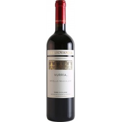 Red wine in bottle VURRIA Nerello Mascalese IGP Terre Siciliane with 75cl