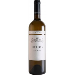 Organic white wine HELIOS Grillo DOC Sicilia in bottle with 75cl