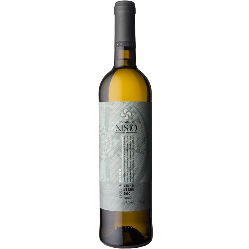 Portuguese Vinho Verde or Green Wine bottle