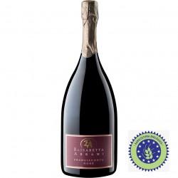 Organic sparkling wine Franciacorta D.O.C.G. Rosé Magnum (1,5 lt) bottle
