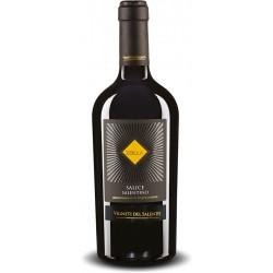 Italian red wine Zolla Salice Salentino DOP bottle