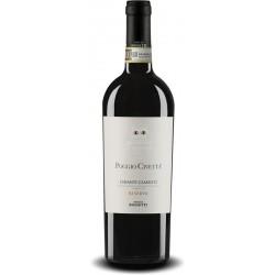 Italian red wine bottle Poggio Civeta Chianti Classico DOCG from tuscany
