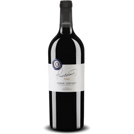 Italian red wine Tino - Rosso Toscana IGT bottle