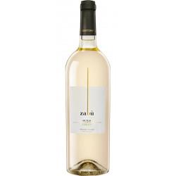 White wine Zabù Grillo Sicilia DOP bottle