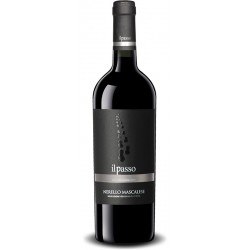 Red wine from the sicily Il Passo Nerello Mascalese Terre Siciliane IGT bottle