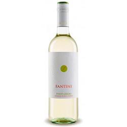 Italian white wine from abruzzo Fantini Pinot Grigio Terre Siciliane IGP bottle