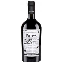 Italian red wine from abruzzo Fantini - News bottle