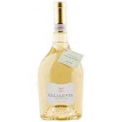Italian white wine from abruzzo Calalenta - Pecorino Terre di Chieti IGT bottle