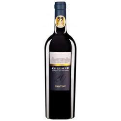 Italian red wine Edizione Cinque Autoctoni 20 bottle