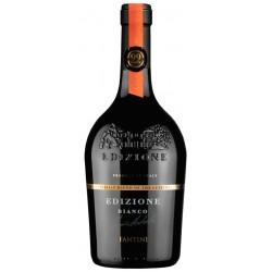 Italian wine Edizione Bianco - Pecorino, Fiano and Grillo bottle