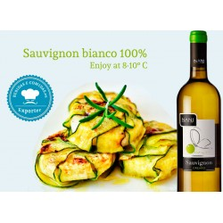 Italian Wine Sauvignon VENETO IGT with food pairing