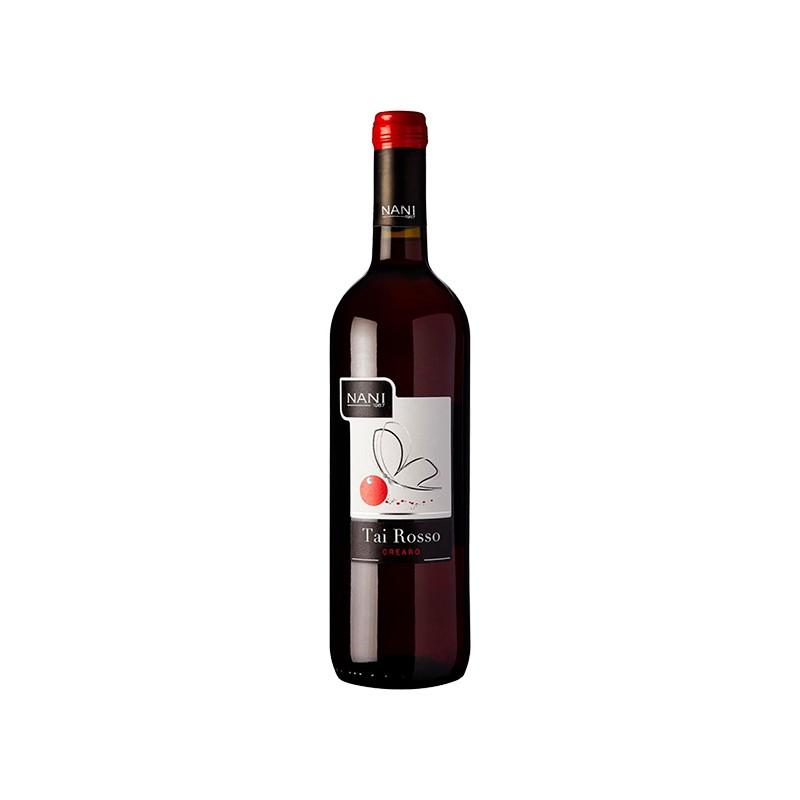Italian Wine Tai Rosso IGT Bottle