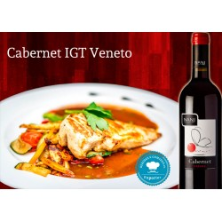 Italian Wine Cabernet VENETO IGT food pairing