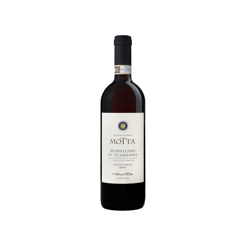 Italian Red wine Morellino di Scansano DOCG bottle
