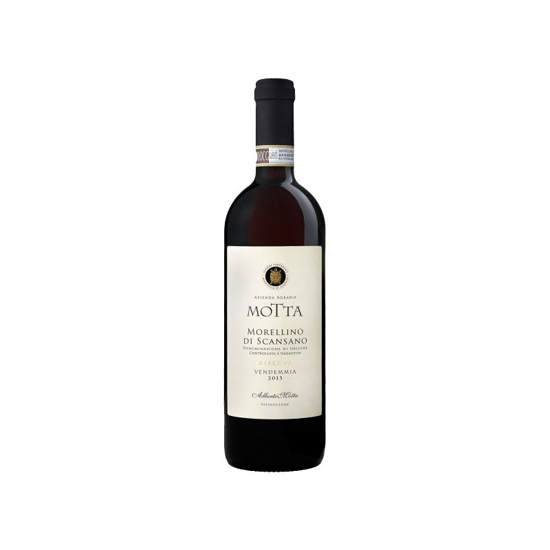 Italian Red wine Morellino di Scansano DOCG Riserva bottle