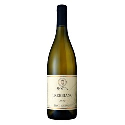 Italian White wine Trebbiano IGT bottle