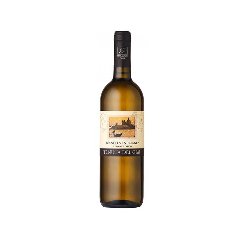 Italian White Wine Bianco Veneziano IGT Veneto Orientale BIO bottle