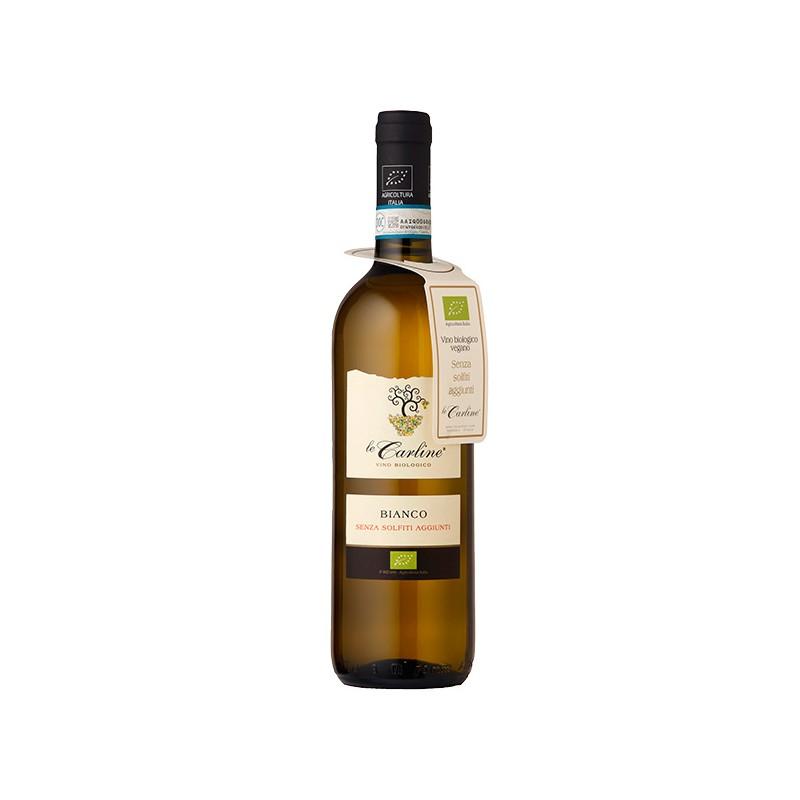 Italian white wine Bianco DOC Lison-Pramaggiore BIO without sulphites