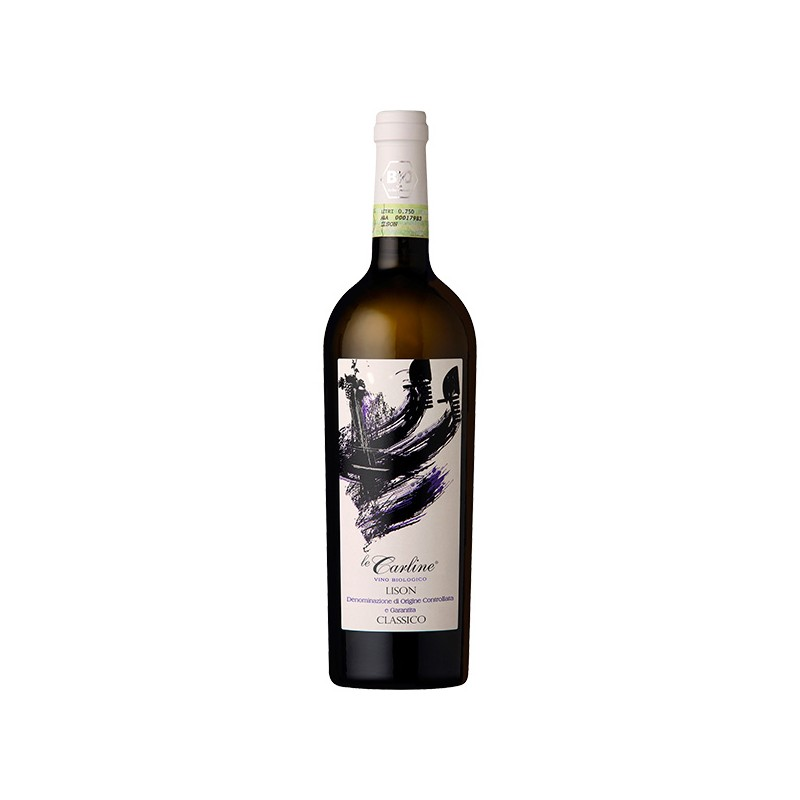 Italian white wine Lison DOCG Classico BIO and Vegan
