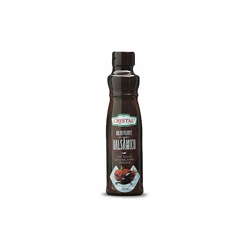 Hot sauce with balsamic vinegar 125grs. PET bottle