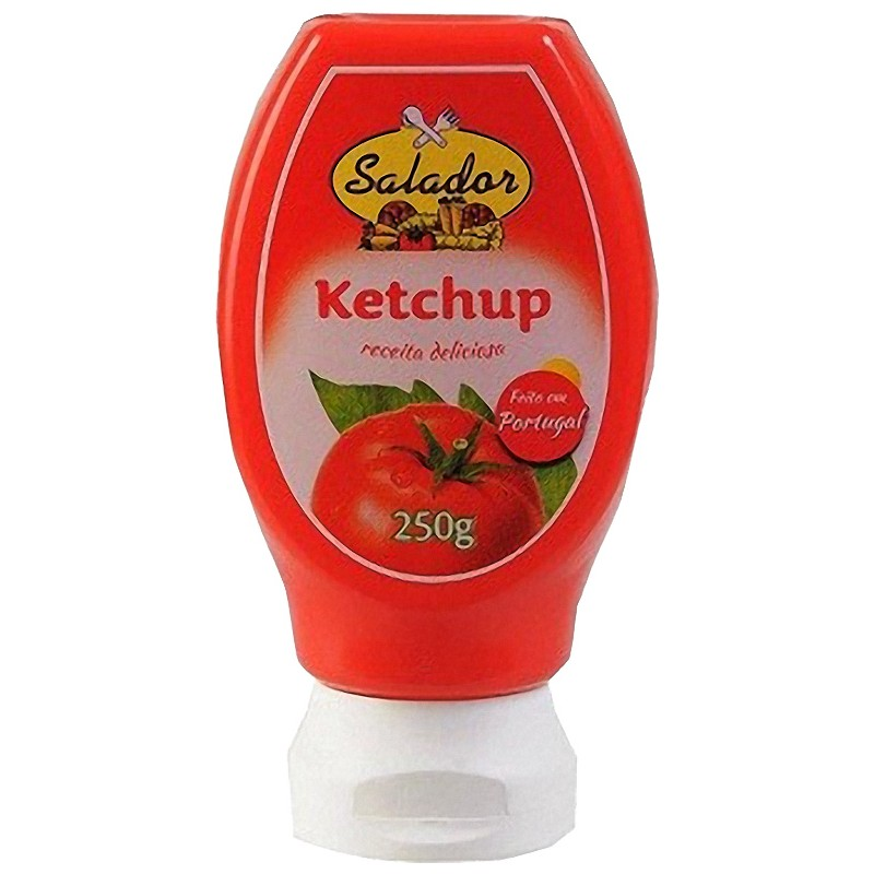 Ketchup - Tomato Sauce Top Down 250grs PET