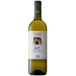 Italian Organic White Wine SARICA BIANCO in 75cl bottle