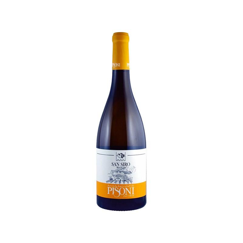 Italian Organic White Wine SAN SIRO BIANCO in 75cl bottle