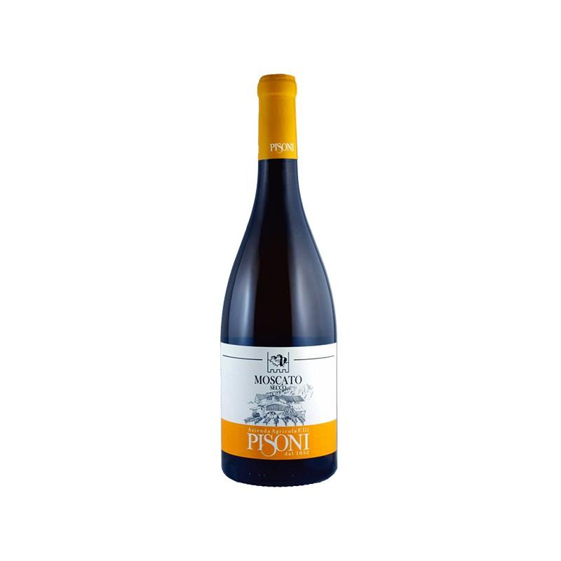 Italian Organic White Wine MOSCATO DRY in 75cl bottle