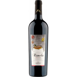 Organic red wine ALZAVOLA ROSSO in 75cl bottle