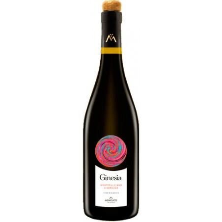Organic wine GINESIA MONTEPULCIANO D'ABRUZZO in 75cl bottle