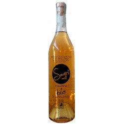 Italian Grappa Sagrantino organic certified in 50cl bottle