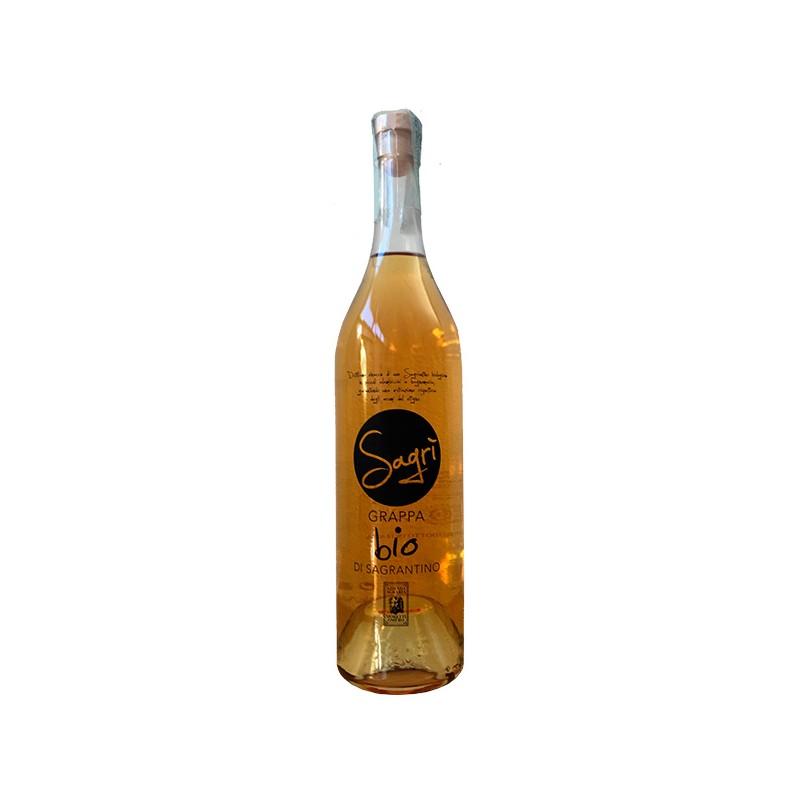 Italian Grappa Sagrantino organic certified in 50cl bottle