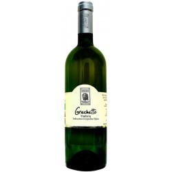Italian organic white wine Grechetto IGT Umbria 75cl bottle