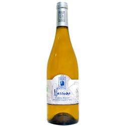 Italian organic white wine Nessuno IGT Umbria 75cl bottle