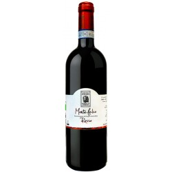 Italian organic red wine Montefalco Rosso DOC in 75cl bottle